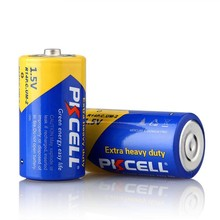 extra heavy duty PVC Jacket 1.5V UM2 R14P C Size Battery