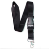 Black logo neck Lanyard Strap , Badge ID , Detachable Keychain ,Cell Holder