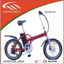 Alloy folding electric bike with brushless hall controller LMTDR-03L