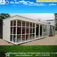 New design mobile container bar/mobile home/modular shipping container