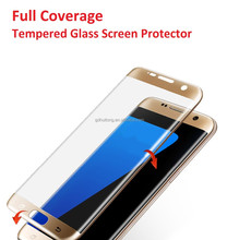 S8 edge screen protector 3D curved full cover tempered glass for Samsung galaxy S8 edge