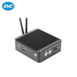 2018 factory price barebone system OEM 6 USB home server mini pc with mSATA and SATA
