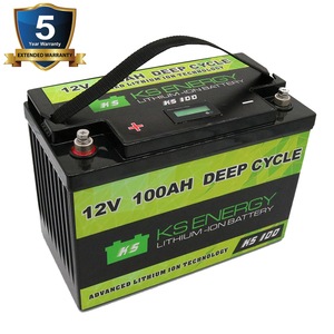 3000 Cycles Deep cycle 12v lifepo4 pack lithium battery 12v 100ah