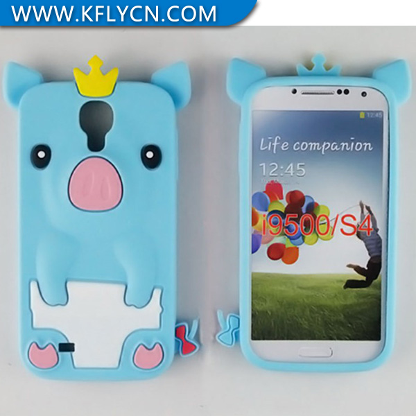 For Samsung S4 Animal Silicone Phone Case For Young