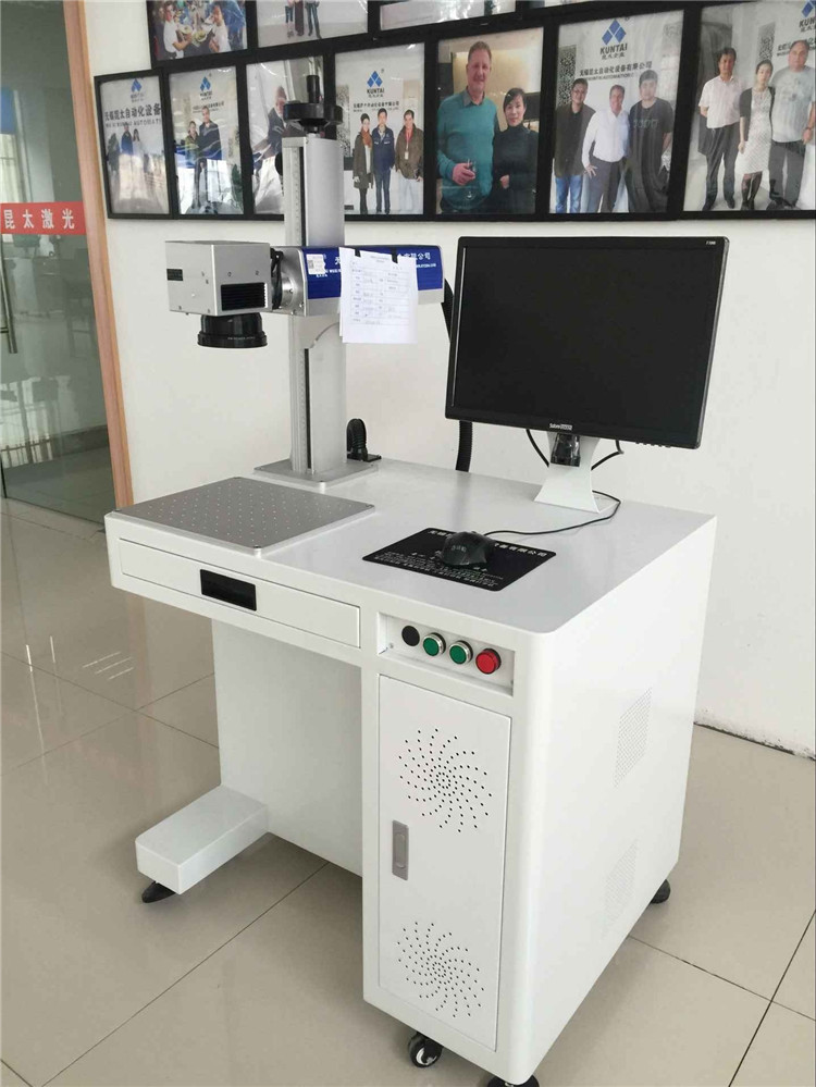 China alibaba shopping Animal ear tag/button 20w fiber laser marking/printing machine