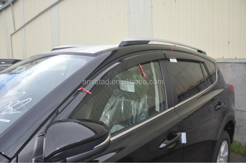 AUTO CAR PARTS WINDOW DEFLECTORS CAR DOOR VISOR FOR TOYOTA RAV4 2013-2014 WINDSHIELD VISOR