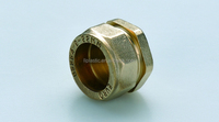 Hight quality copper pipe fittings brass end plug/cap for copper pipe
