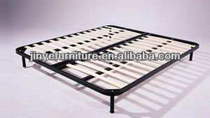 Wooden slat adjustable bed base