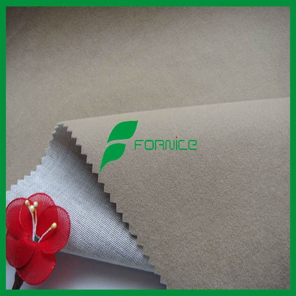 huzhou fornice flock material for sofas