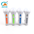 Multi-functional solar flashlight mini torch light with color optional