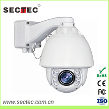 SECTEC CCD Sensor and IP Camera Type 1080P auto tracking P2P 2MP High Speed Dome Camera