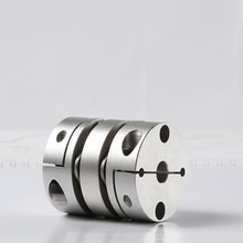 Flexible shaft diaphragm disc coupling for motion control system