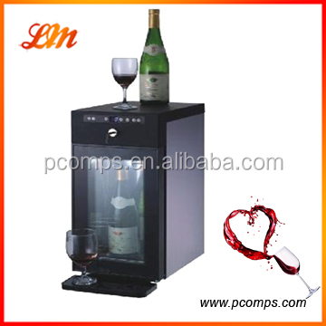 Four Bottles Electric Wine Cooler Dispenser with Storage Box