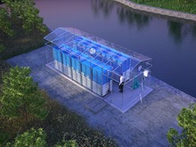 Mini Recycling Waste Sewage Water Treatment Plant