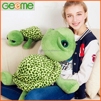 Customized Promotional Stuffed Plush Toy with Big Eyes Turtle