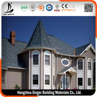 Low price synthetic roof tile, high quality light weight spanish tile roof
