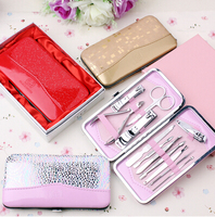 maincure and pedicure set nail tools for salon shop