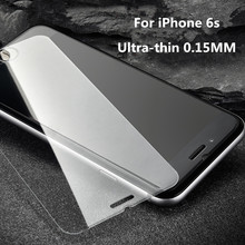 2017 Hot selling full cover screen with 0.33mm 9H hardness tempered glass screen protector for iphone7/7plus