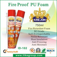 espuma de poliuretano spray/ Fire-proof Expanding PU foam manufacturer/factory 750ml/500ml