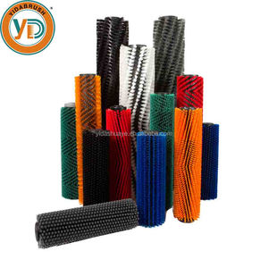 Factory Made Cleaning Nylon Bristle Brush Roller