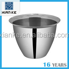 1.0L Single Wall Stainless Steel ice cream bucket