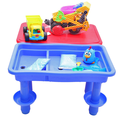 School kids play waterproof 1 kid 1 sandbox plastic table removable legs
