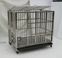 Factory supplier heady duty double dog travel cage