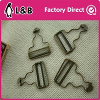 metal suspender adjuster buckle fashion brass buckle