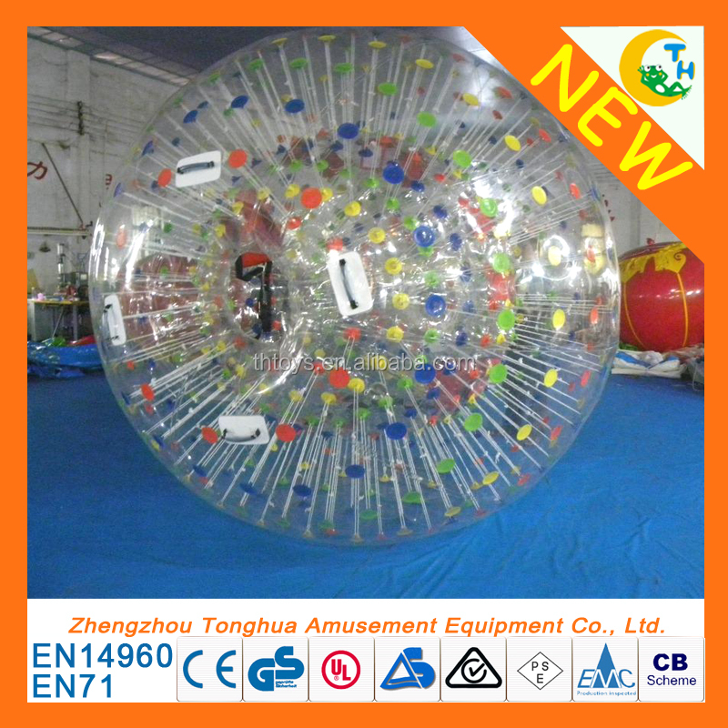 snow land zorb ball inflatable human sized hamster ball for bowling