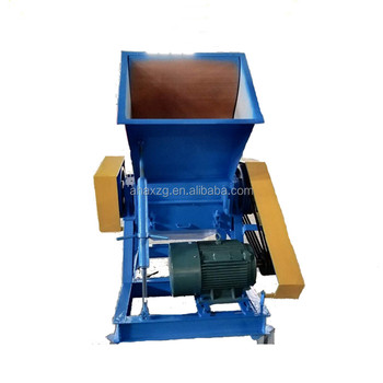 single shaft best design bottle plastic crusher machine