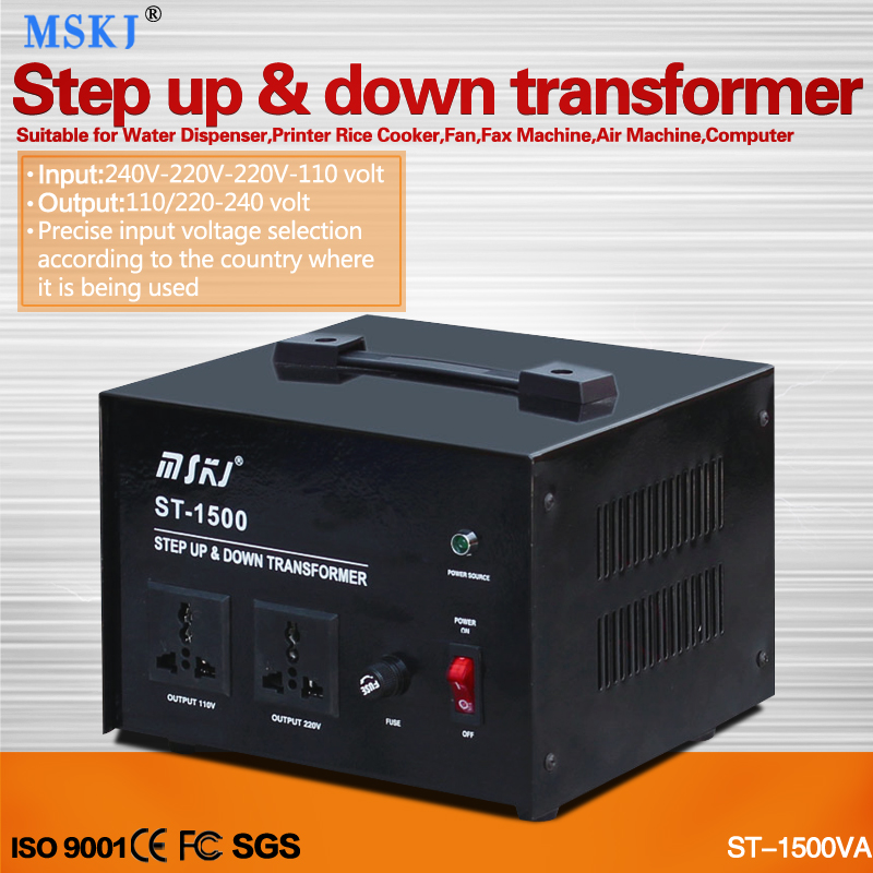 ST-1000w step up and down transformer for home coverter