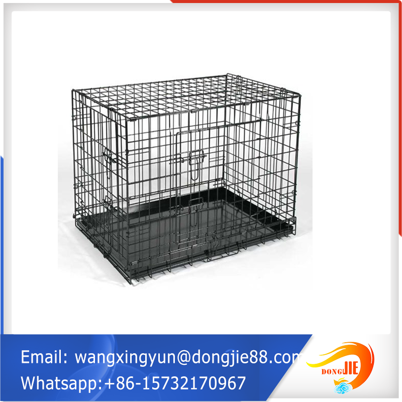 directly sell Standard small dog crate/welded wire mesh dog cage