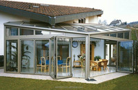 Spain Aluminum Glass Sunroom and Glass Houses