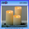 flickering flame led wax candles