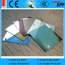 1.3-6mm Color Mirror Sheet Glass