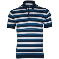 High Quality 100 Cotton Polo Striped T Shirts Men's Clothing