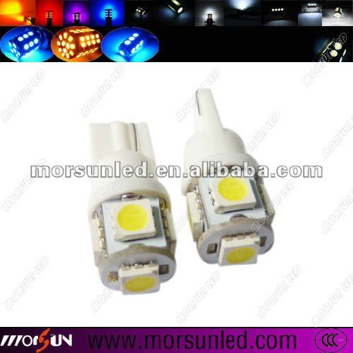 T10 5050 5SMD auto parts, led lamp instrument lights,car accessories for all car bulb(MST10WA550S)