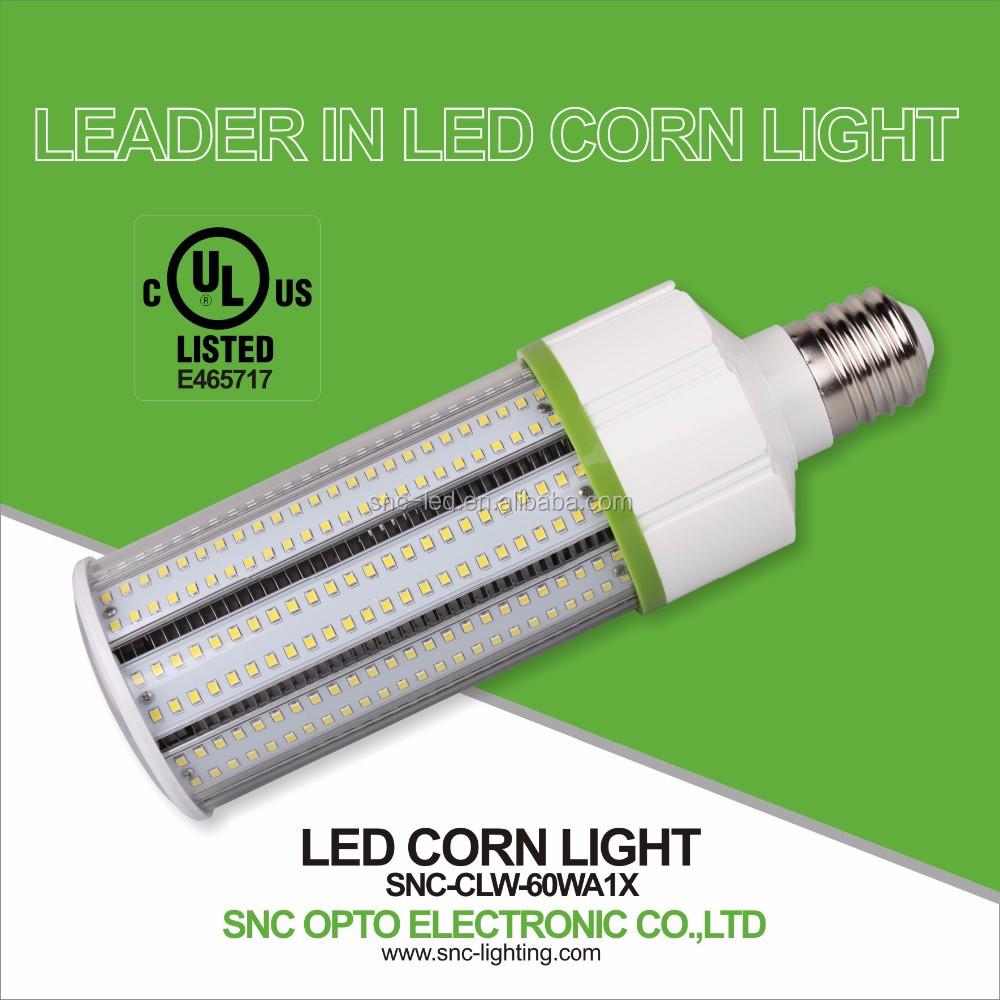 High Lumen Led Street Light 60w Led Corn Light Bulb E39 Ul Listed ...