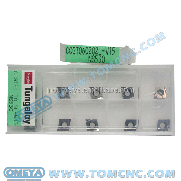 Extremely stable tool life Tungaloy inserts CNMG120404R-S NS530