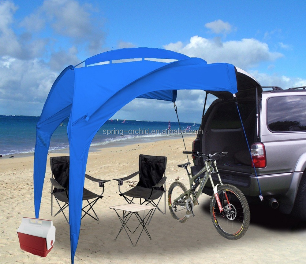 Camper Trailer Roof Top Family Canopy Tent for Beach Camping SUV, MPV, Hatchback and Sedan Anti-uv Tents for Camping 6 Person