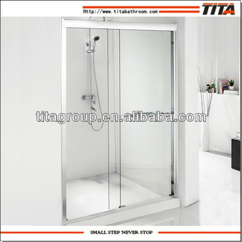 Customized shower screen
