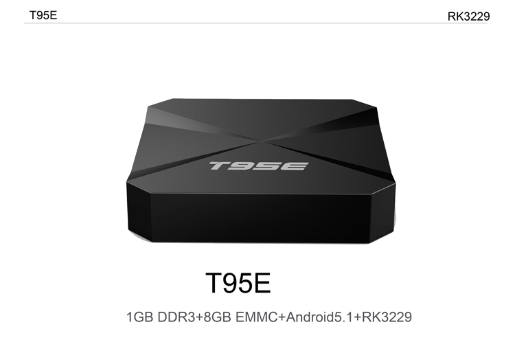 Android 5.1 Kodi 16.1 RK3229 quad-core cpu Hardward 3D graphics acceleration low cost tv box