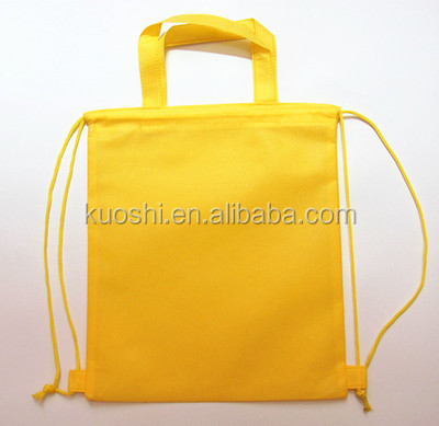 Non woven military drawstring bag