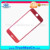 New Coming Red 3d Tempered Glass Screen Protector For Iphone 7plus in stock with Factory Price for iPhone 7+ red glass