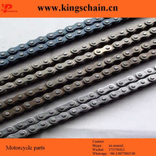 black motor parts 40Mn black 428H motorcycle chain made in China