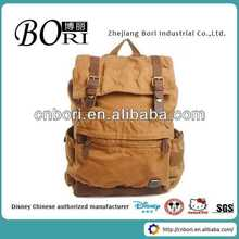 Custom fancy backpack bags manufacturer genuine cow leather bag