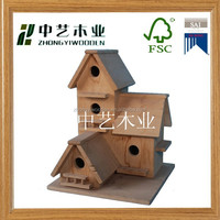 2014 hot selling new design handmade Super quality wood bird house with stand,cheap bird house,large bird cage for whoelsale