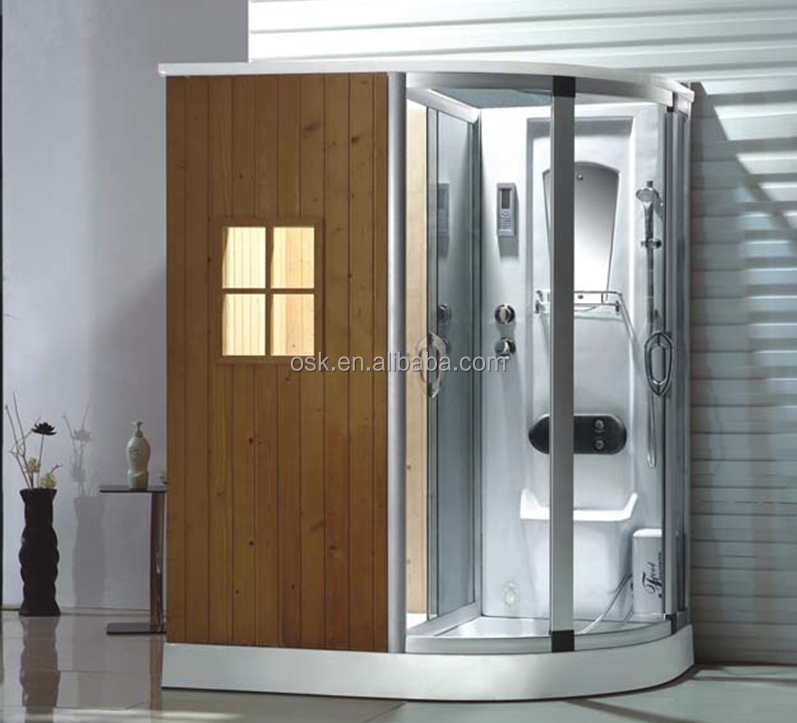 Steam Massage Wooden Sauna Shower Room OSK-A8916