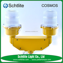 SHEILD.S2 Ningbo OEM Aluminum Wholesale Towers Harbors Smokestacks Led Aviation Warning Light