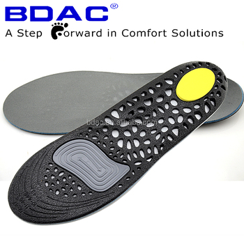 shock absorption TPE gel memory foam sport shoe insole